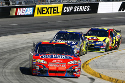 Jeff Gordon leads Jimmie Johnson and Kyle Busch