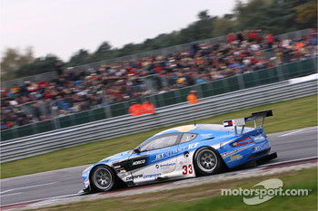#33 Jetalliance Racing Aston Martin DBR9: Karl Wendlinger, Ryan Sharp