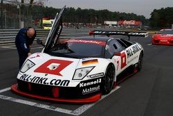 All-Inkl.com Racing Lamborghini Murciélago: Christophe Bouchut, Marc Duez