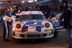 #74 Ebimotors Porsche 997 GT3 RSR