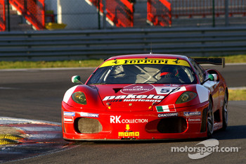 #59 Advanced Engineering Ferrari 430: Rui Aguas, Maurizio Mediani