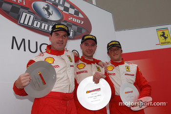 Trofeo Pirelli race 1: the podium