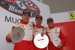 Trofeo Pirelli race 1: the podium
