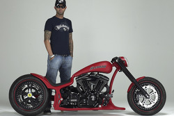Marcus Walz builder of the new chopper bike