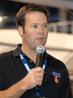 Robby Gordon at SEMA  trade show in Las Vegas