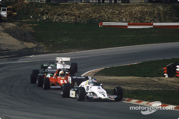 Keke Rosberg, Ren Arnoux, Danny Sullivan and Alan Jones