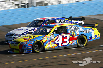 Bobby Labonte and Patrick Carpentier