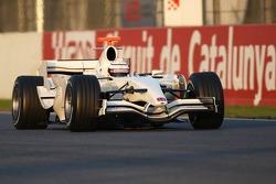 Andreas Zuber, Test Driver, Honda Racing F1 Team, RA107