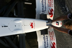 Anthony Davidson, Super Aguri F1 Team, nose cone