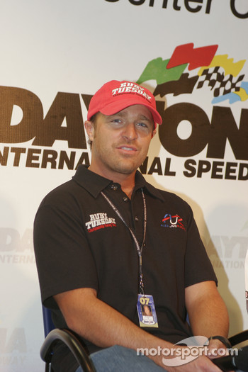 Alex Job Racing press conference: Bill Auberlen