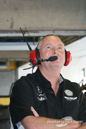 John Booth amused by the WTCC