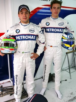 Christian Vietoris and Augusto Farfus