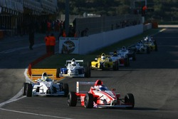 Daniel McKenzie, Fortec Motorsport and Ricardo Favoretto, HBR Motorsport USA