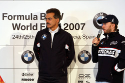 BMW Hospitality Talk with Dr. Mario Theissen, BMW Motorsport Director and Nick Heidfeld, BMW Sauber F1 Team