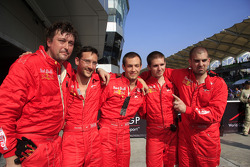 A1 Team Switzerland crew members