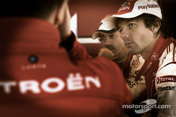 Sébastien Loeb and Citroen Total WRT technical briefing