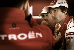 Sébastien Loeb and Citroen Total WRT technical briefing