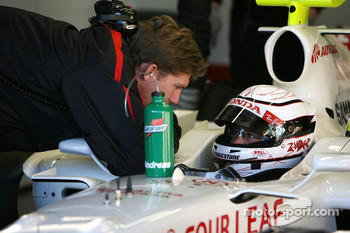 Andreas Zuber, Test Driver, Honda Racing F1 Team