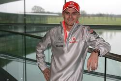 New Vodafone McLaren Mercedes driver Heikki Kovalainen