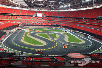 Wembley stadium track