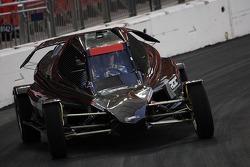 Marcus Gronholm in ROC car