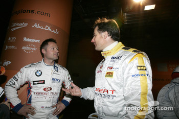 Andy Priaulx and Yvan Muller