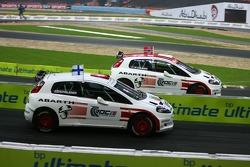 Semi final 1: Heikki Kovalainen and Henning Solberg