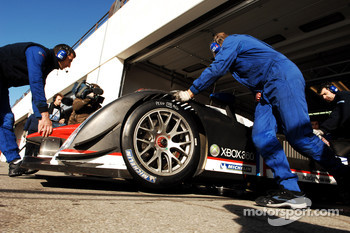 Dino Lunardi in the Peugeot 908 Hdi FAP