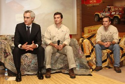 Team Sical Challenge: Rodrigo Amaral and Duarte Amaral talk with media