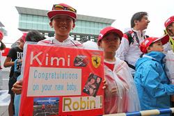 Kimi Raikkonen, Ferrari fãs