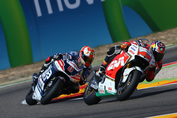 Jack Miller, Team LCR Honda and Hector Barbera, Avintia Racing