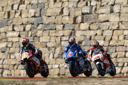 Alvaro Bautista, Aprilia Racing Team Gresini and Maverick Viñales, Team Suzuki MotoGP and Jack Miller, Team LCR Honda