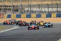 El inicio: Oliver Rowland, Fortec Motorsports