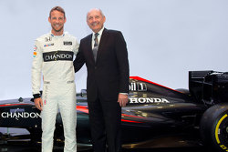 McLaren Button announcement