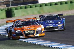 #100 MS Racing, Audi R8 LMS ultra: Daniel Dobitsch, Edward Sandström
