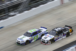 Casey Mears, Germain Racing Chevrolet and Tony Stewart, Stewart-Haas Chevrolet