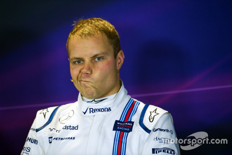Valtteri Bottas, Williams en la conferencia de prensa de la FIA