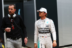 Nico Rosberg, Mercedes AMG F1 retired from the race