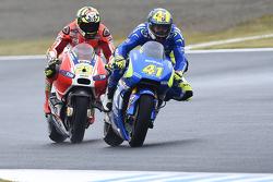 Aleix Espargaro, Team Suzuki MotoGP and Andrea Iannone, Ducati Team