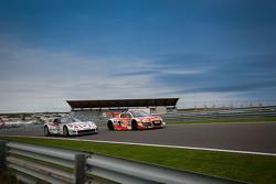 #24 MS Racing, Audi R8 LMS ultra: Marc Basseng, Florian Stoll