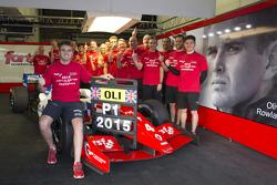 奥利弗·罗兰获得2015赛季雷诺方程式3.5系列赛年度冠军