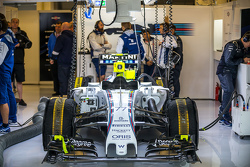 Williams FW37 of Valtteri Bottas, Williams