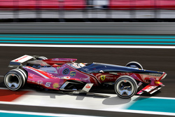A possible future semi-closed canopy design for Formula 1