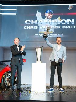 Chris Van der Drift, kampioen Porsche Carrera Cup Asia 2015