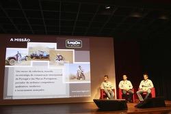 Lagos Team: Ruben Faria, Helder Rodrigues and Carlos Sousa