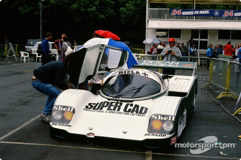 #20 Team Davey Porsche 962 C: Tim Lee Davey, Tom Dodd Noble, Katsunori Iketani