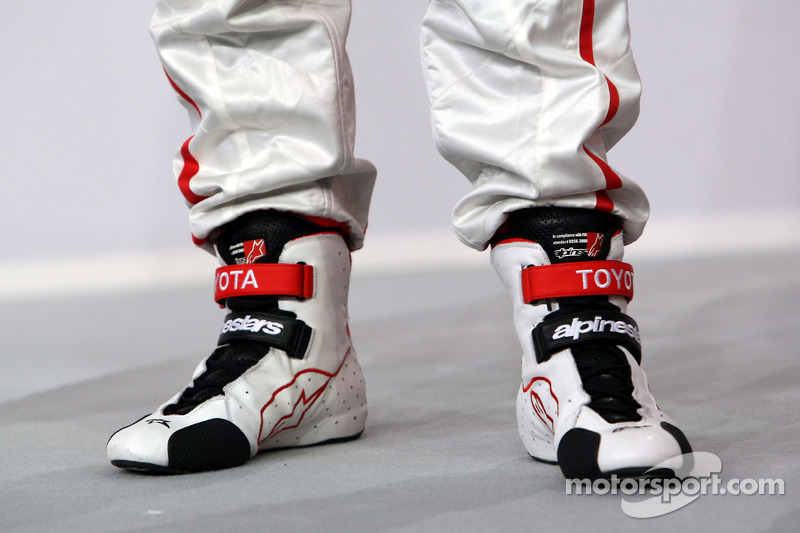 Shoes of Timo Glock