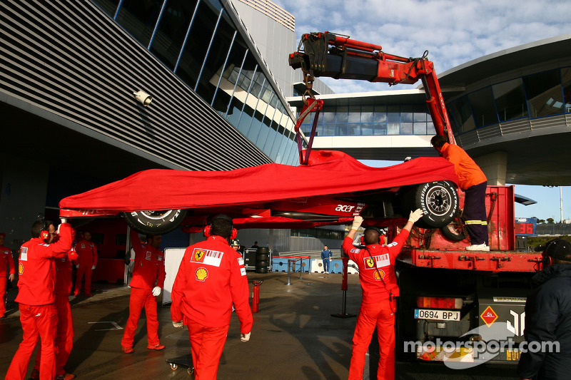 Felipe Massa, Scuderia Ferrari, Pitlane