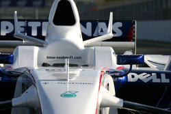New BMW Sauber F1.08 body work detail