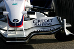 New BMW Sauber F1.08 front wing detail